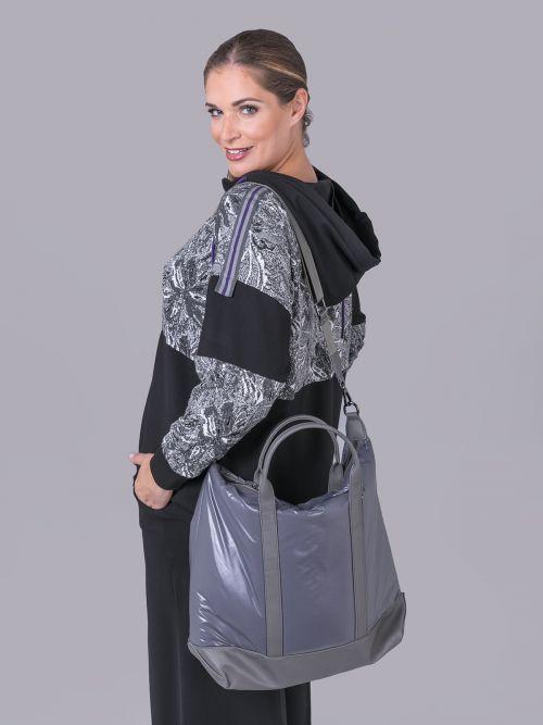 Nylon shopper bag