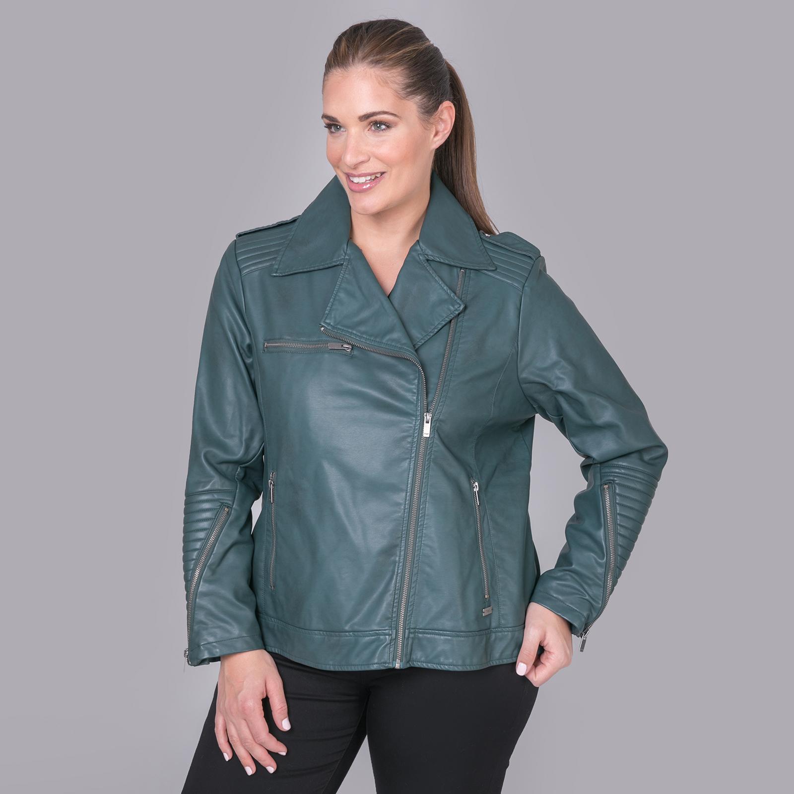 Η διαχρονική γοητεία ενός biker jacket ανανεώνει με το στυλάτο αέρα του κάθε new-season look αλλά αυτό το κομμάτι το λατρεύουμε ακόμα περισσότερο για τα όμορφα χρώματά του.