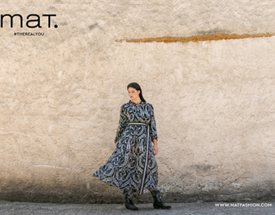 Pattern Play στη νέα συλλογή της mat. fashion