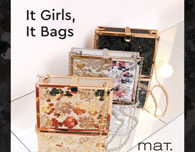 It bags for it girls by mat. fashion!